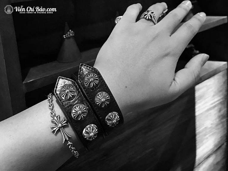vong-tay-nam-chrome-hearts-bac-thai