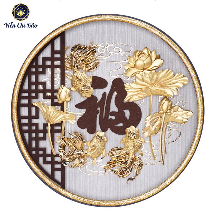 tranh-hoa-sen-dat-vang-24k